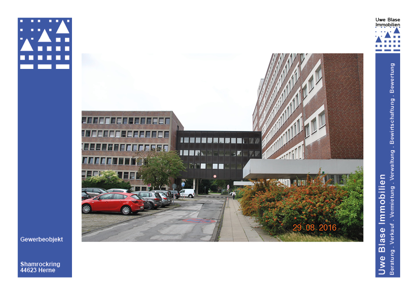 Büro-/Praxis-/Verwaltungsgebäude mit 460 Stellplätzen
