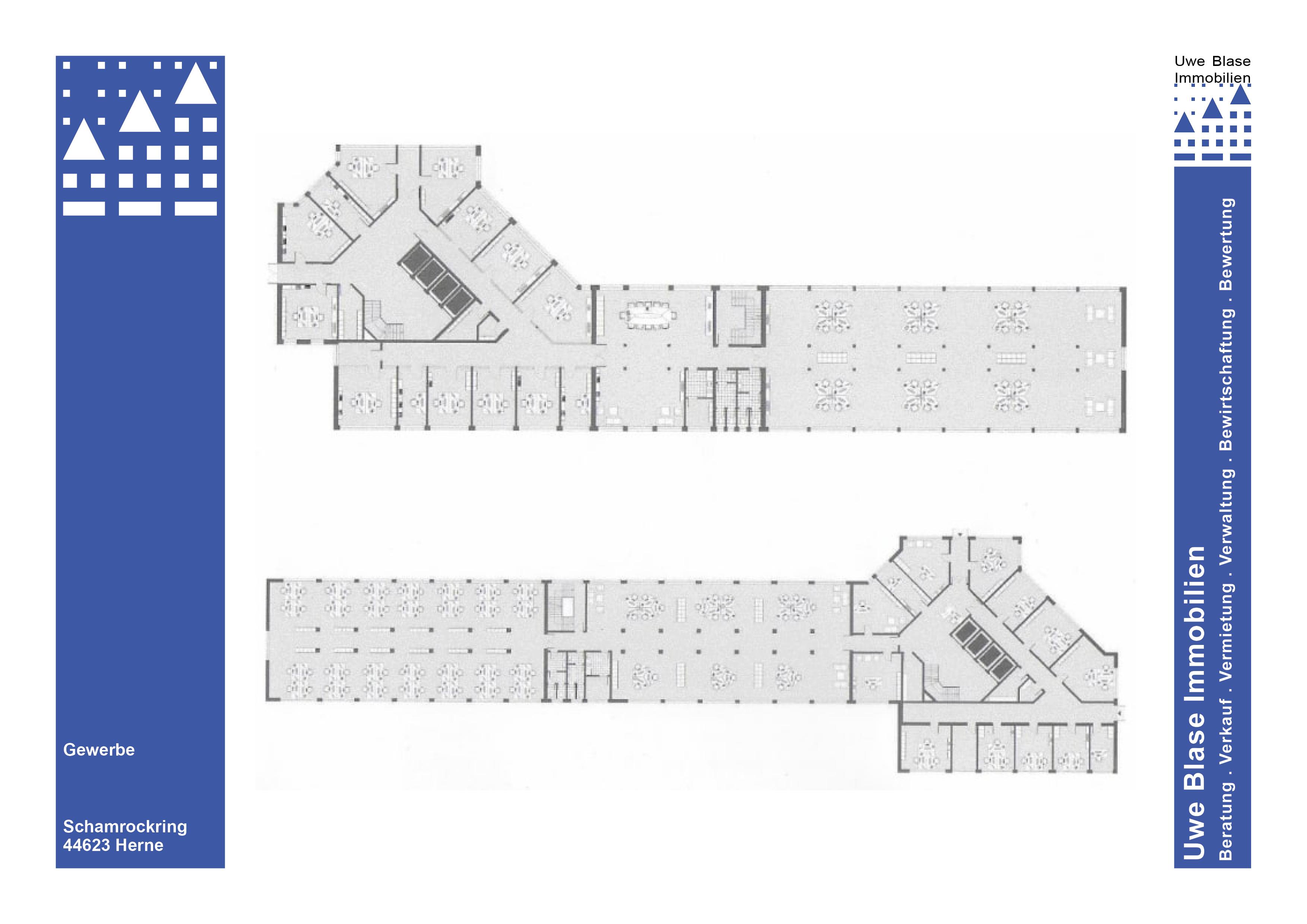 Haus 4: 7-geschossiges Bürogebäude