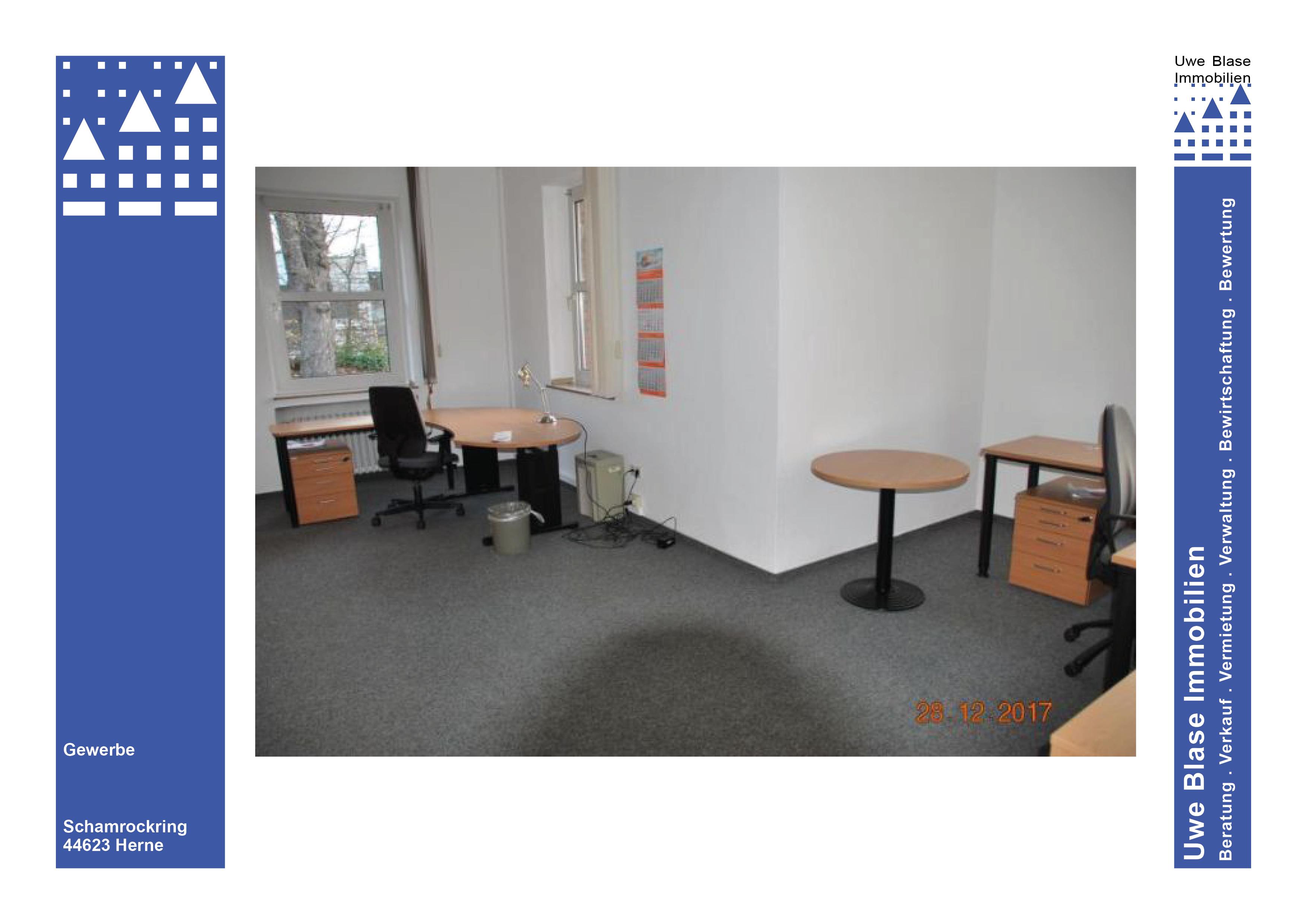 Haus 11: Büroflächen mit Lagerräumen im Keller