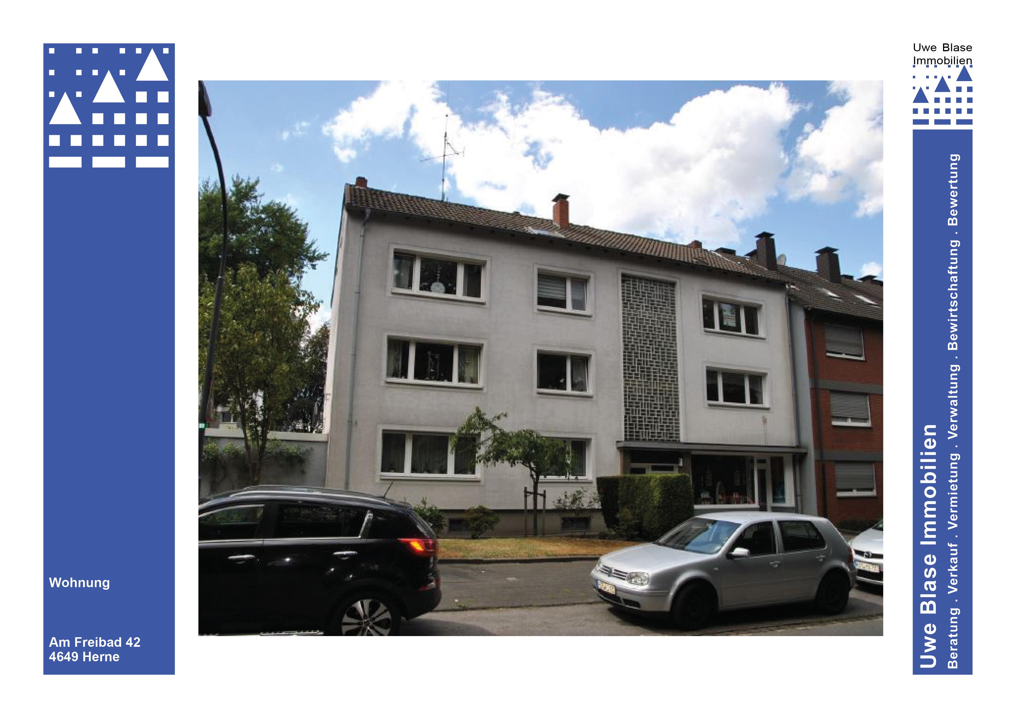 Eigentumswohnung mit ca. 54 m² Wfl. und Garage