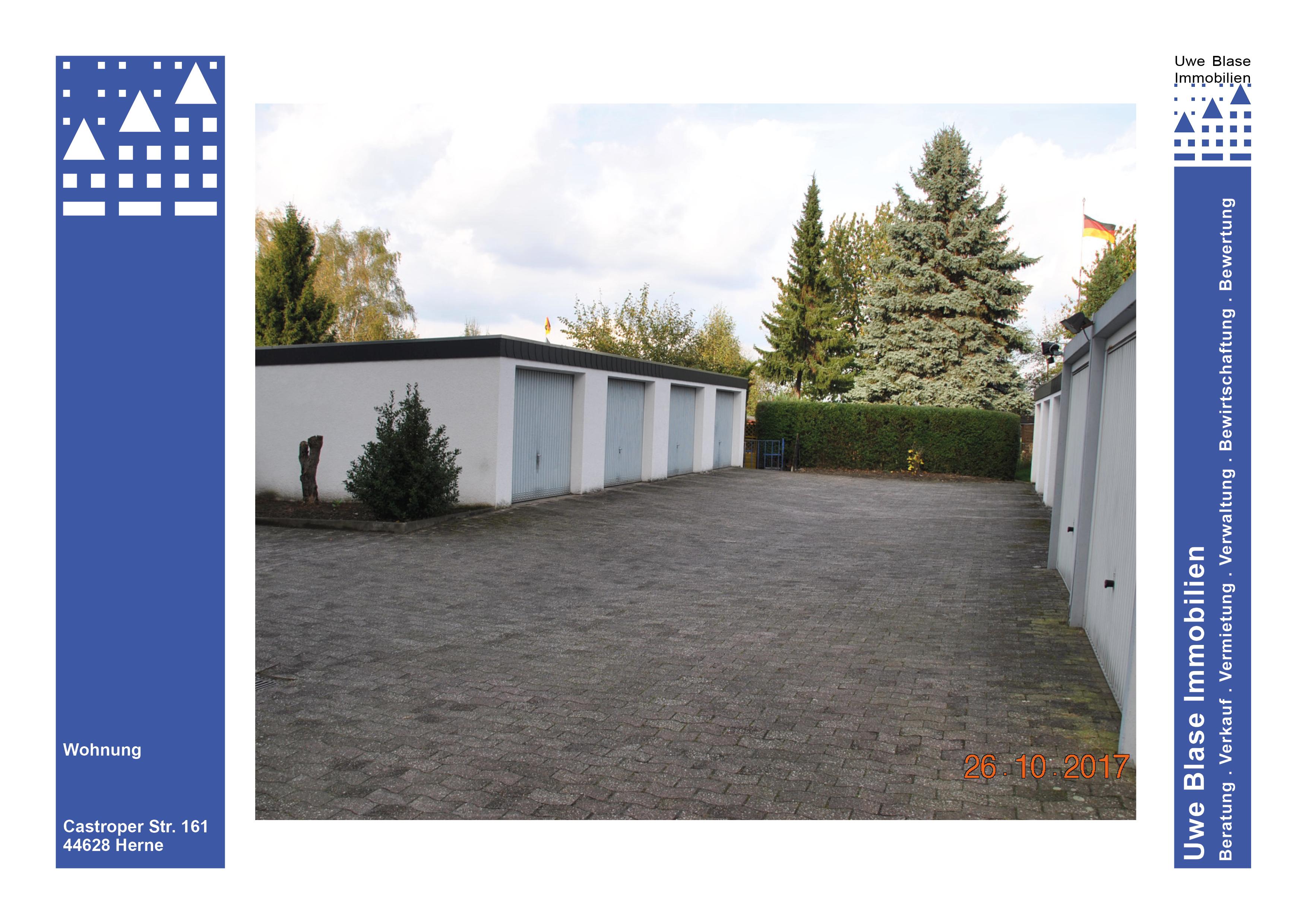 gut angebundene 2 Zimmer-Wohnung mit Garten und Garage