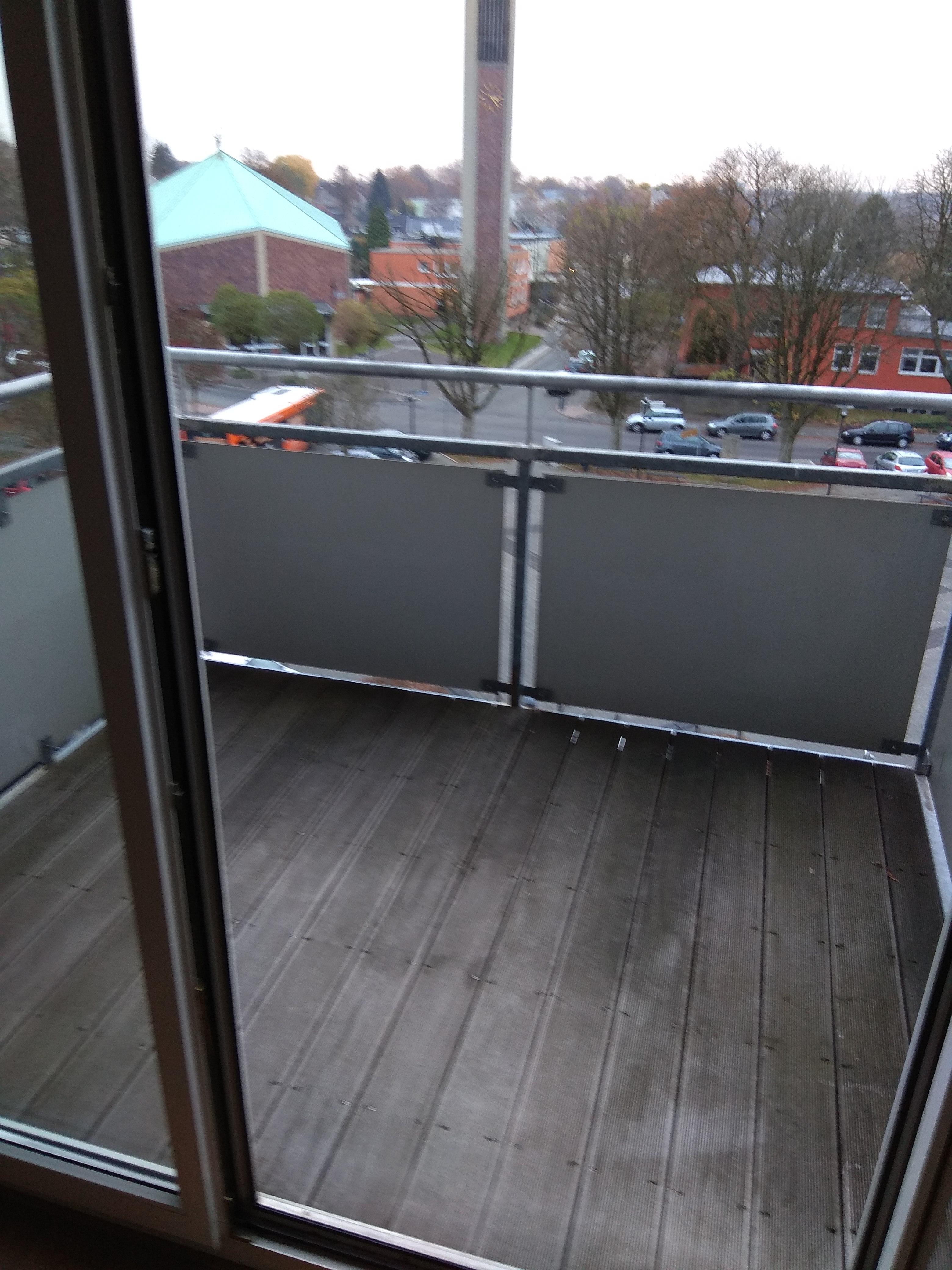 attraktive 2-Zimmer mit Balkon für Senioren