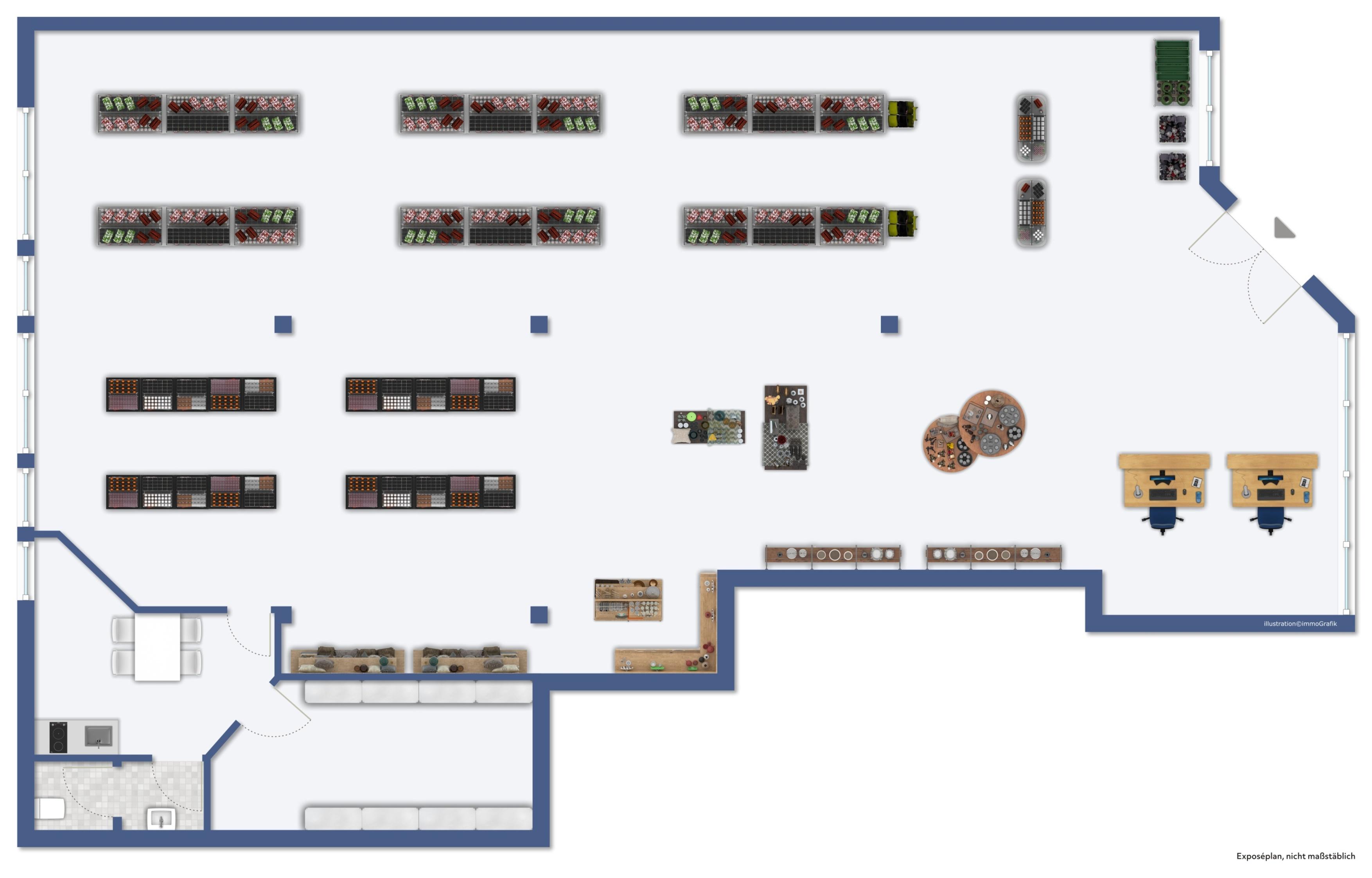 1A Lage! Ladenlokal mit 218 m² direkt am Münsterplatz in Castrop-Rauxel!