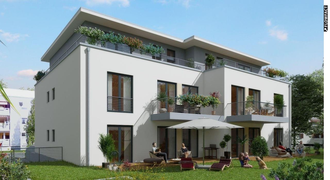 Penthouse! Neubau-Erstbezug mit sonniger Dachterrasse!