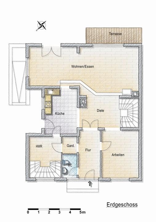 Einfamilienhaus in Bonn-Muffendorf! Viel Platz für Sie und Ihre Familie!