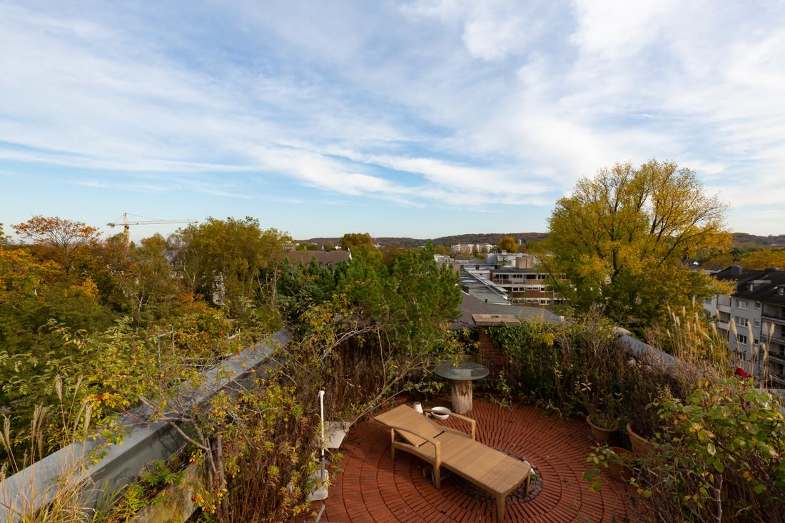 Eine echte Rarität: 380m² Penthouse mit echtem Dachgarten in Top-Lage direkt am Zoopark