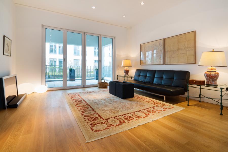 Top-Adresse in Kö-Nähe* Elegante möblierte Stadtwohnung mit Terrasse! Schick und minimalistisch!