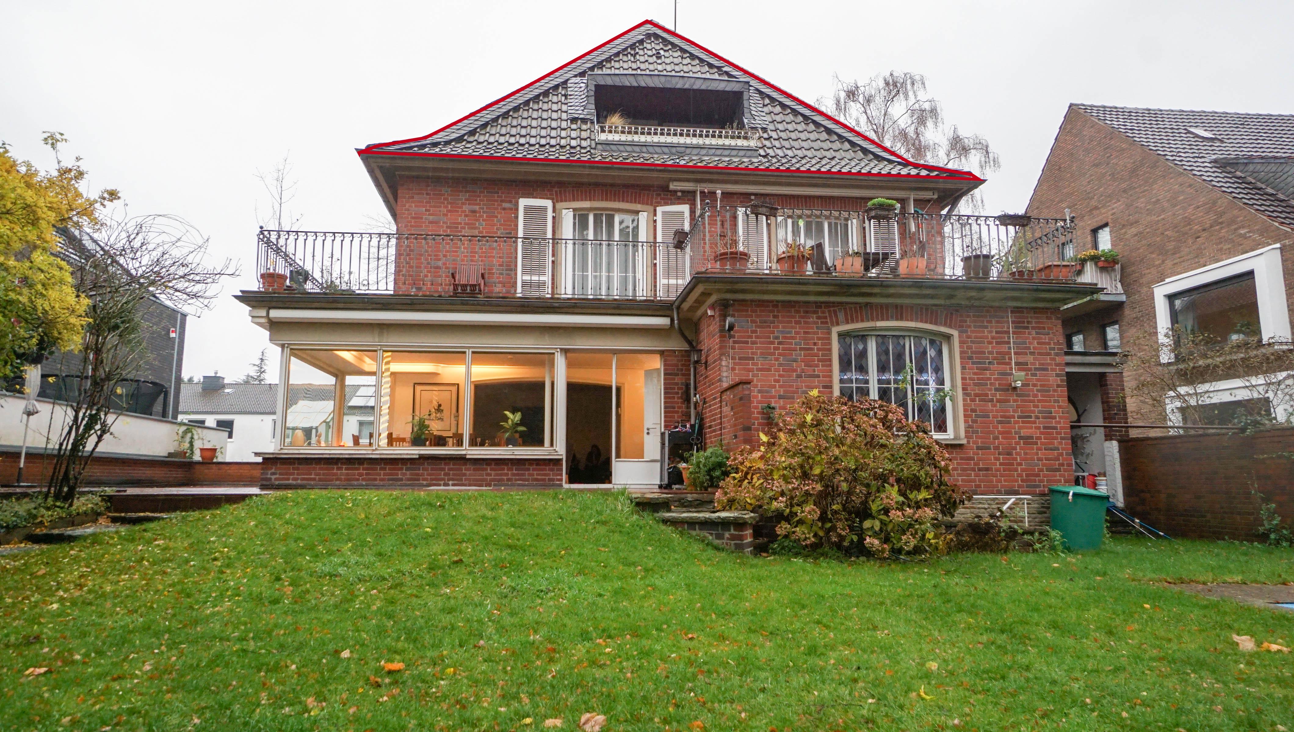 Gemütliche 2-Zimmer-Dachgeschosswohnung mit Landhaus-Flair und Terrasse