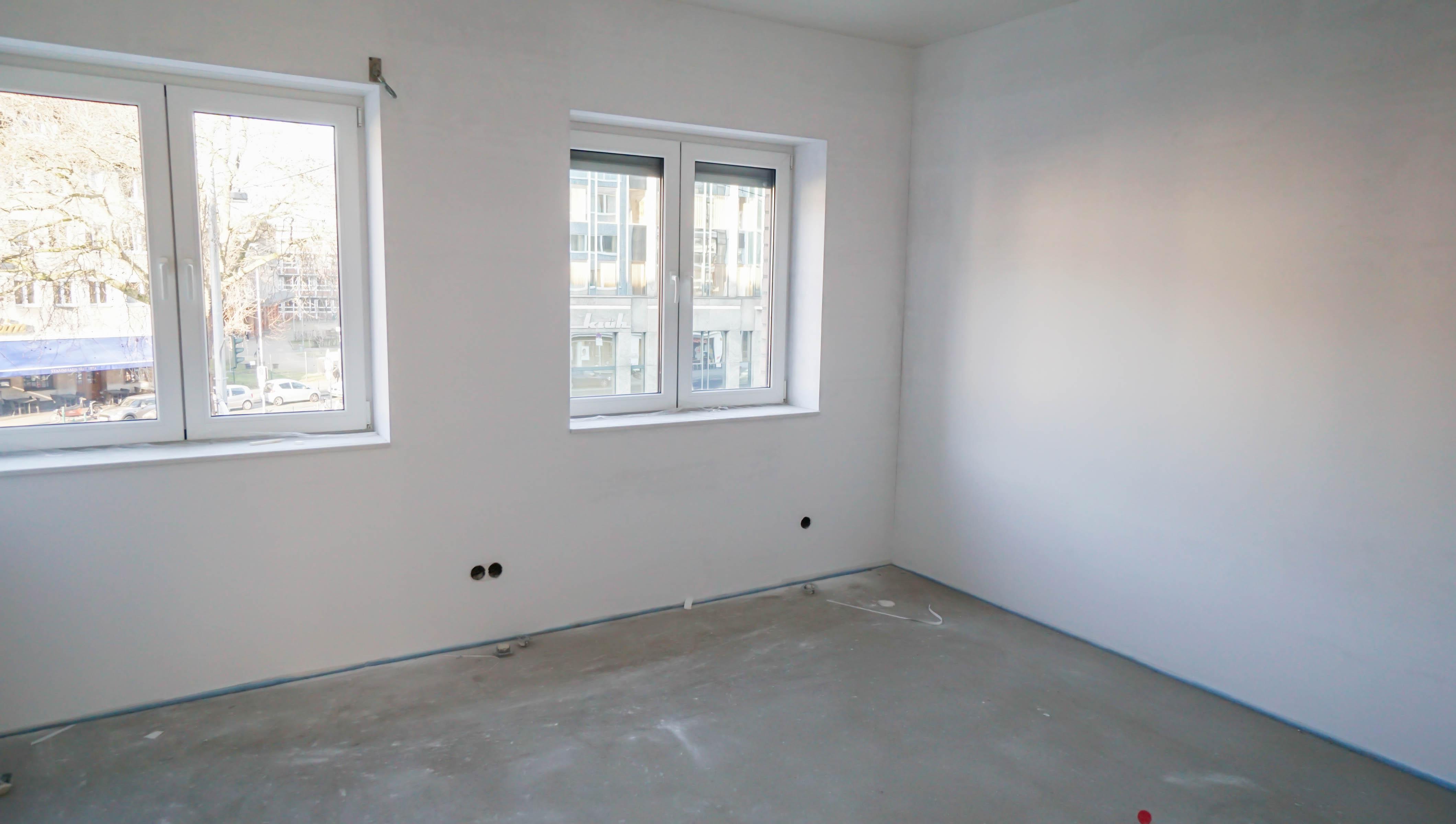 Attraktive 3 Zimmer Wohnung mit Balkon und Einbauküche als Neubau-Erstbezug