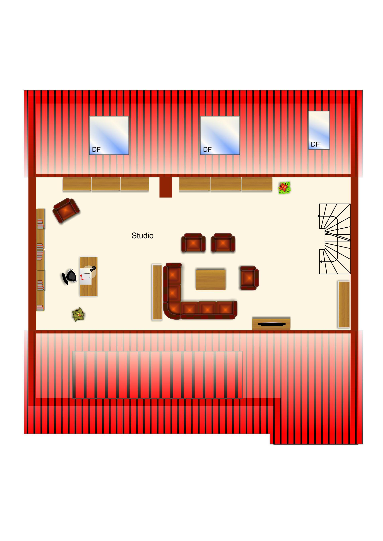 Gemütliche 3-4 Zimmer Dachgeschoss-Maisonettewohnung mit ausgebautem Spitzboden