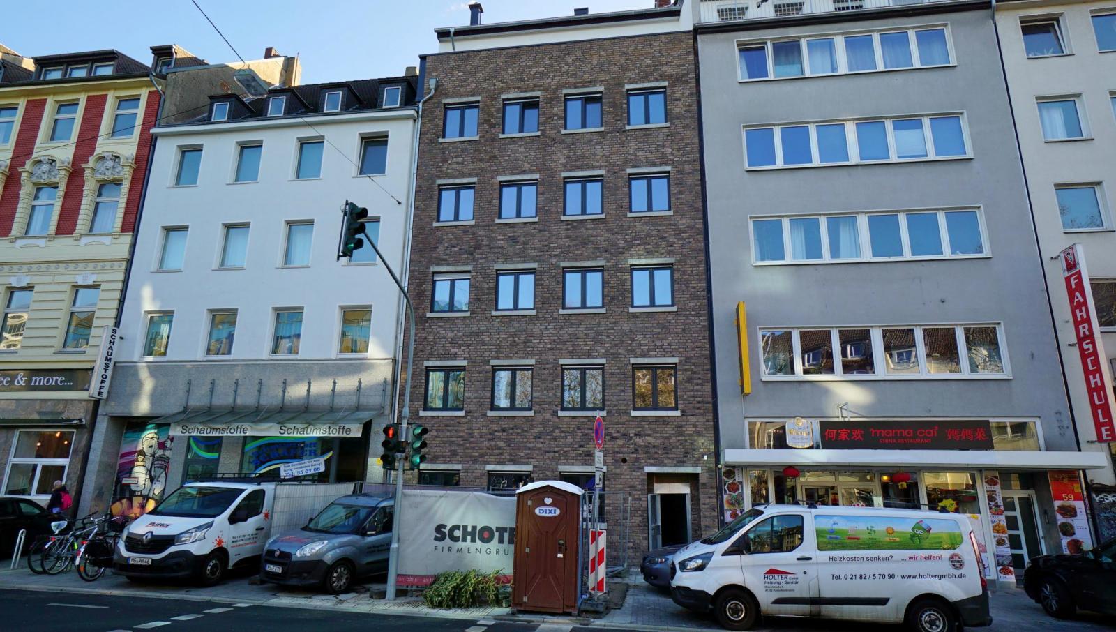 Düsseldorf-Stadtmitte: Attraktive Neubau-Eigentumswohnung mit Terrasse und Atrium