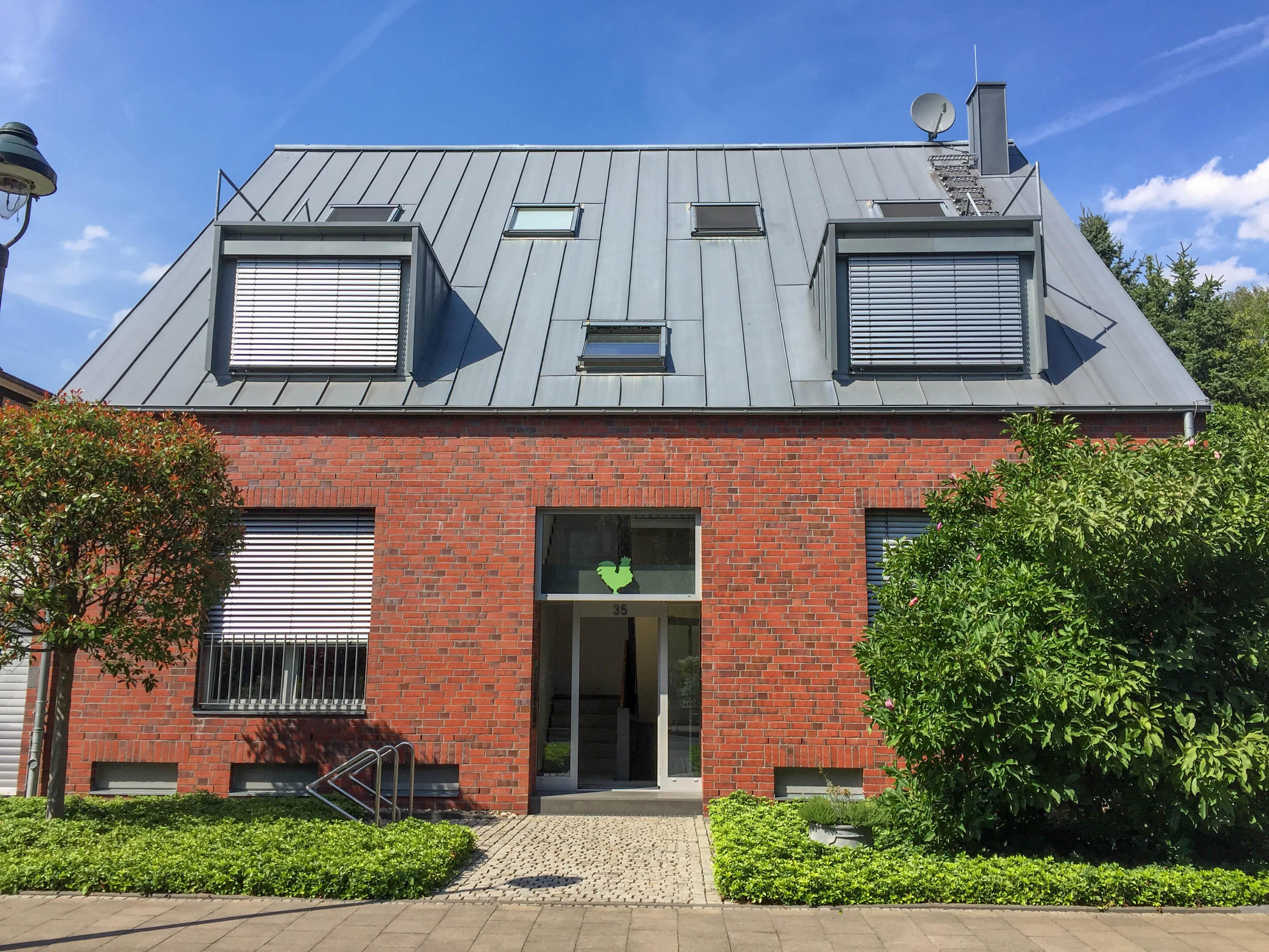 Stadtzentrales Wohnen in der Nähe des Medienhafens! Moderne Maisonette-Wohnung mit Garten
