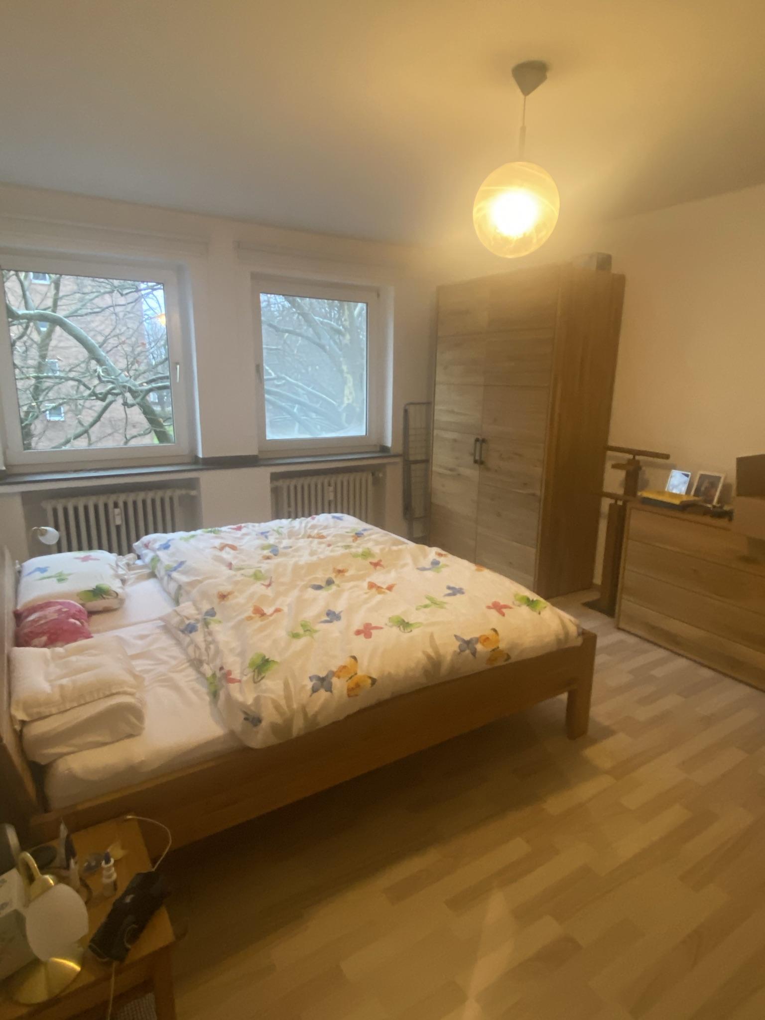 Perfekt geschnittene 3 Zimmer Wohnung mit Balkon in Rheinnähe