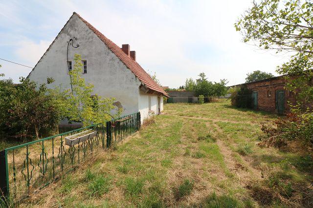 großen Baugrundstück (teilbar) mit Abrißhaus und Nebengebäuden im Ortsteil der Spreewaldstadt Lübbenau