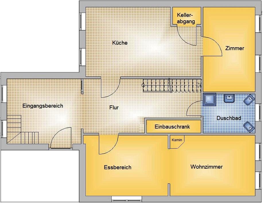 modernisiertes Einfamilienhaus mit Freiterrasse und viel Nebengelass