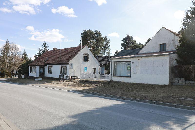 Grundstück mit 2 Einfamilienhäuser und Werkstatt in Goyatz