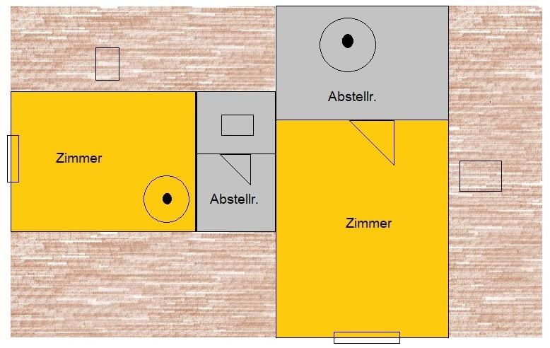 Als Kapitalanlage -  vermietete 3 Raumwohnung über zwei Etagen in Märkisch Buchholz