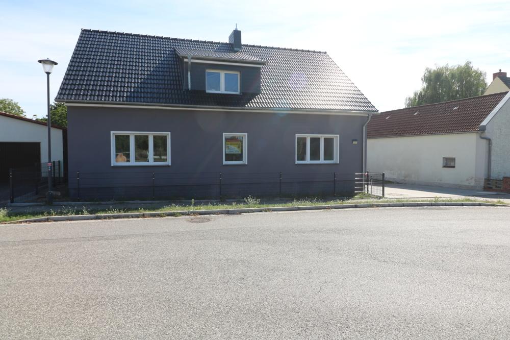 moderne 3-Raumwohnung mit Hof und Garten in Seenähe vor den Toren des Spreewalds