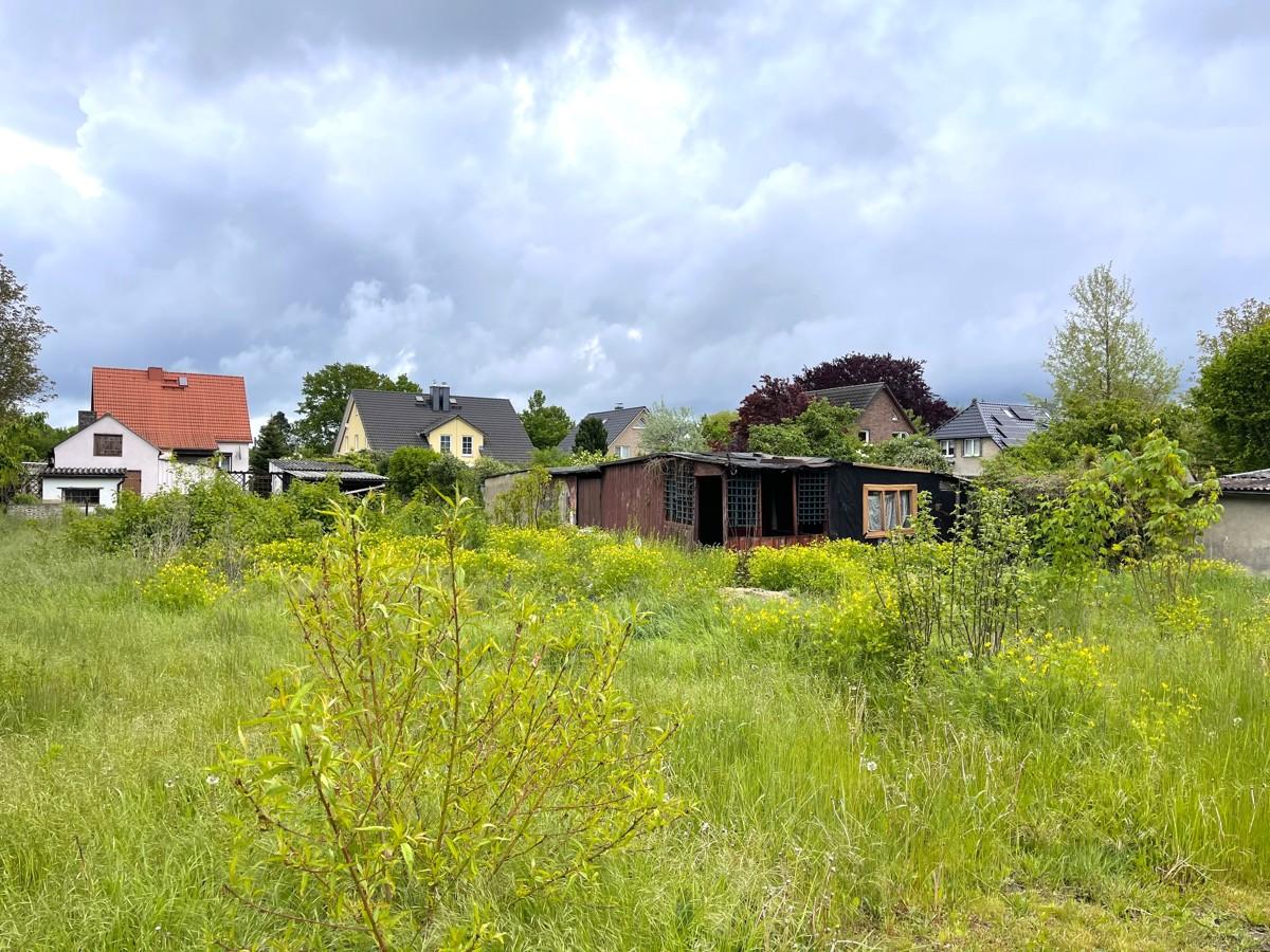 INKLUSIVE BAUGENEHMIGUNG | Tolles Wohnbaugrundstück in 2. Reihe in Bernau-Schönow