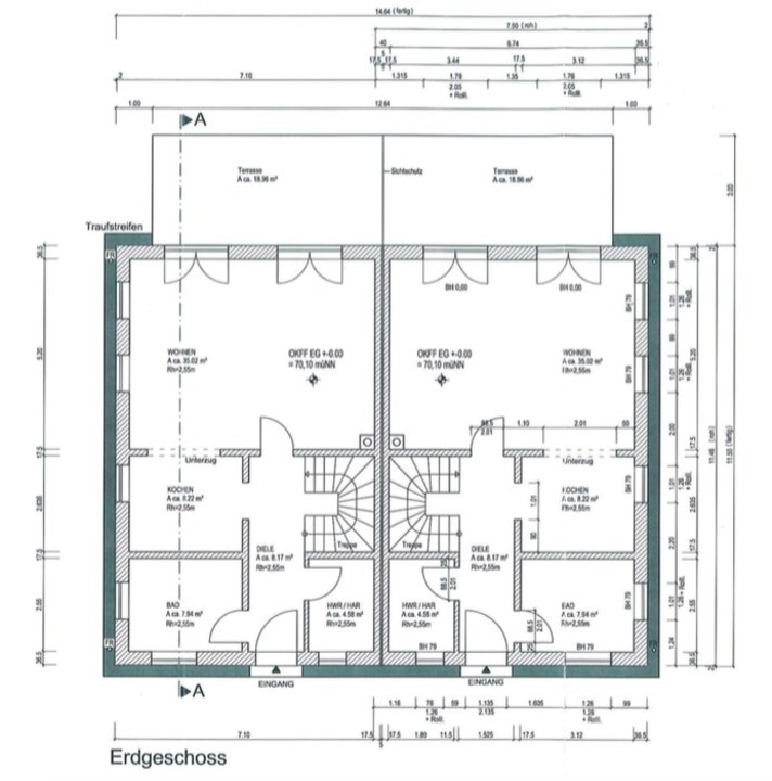 BAUPROJEKT FÜR IHR GRUNDSTÜCK  Individuell planbares Doppelhaus für zwei Familien oder Einliegerwohnung