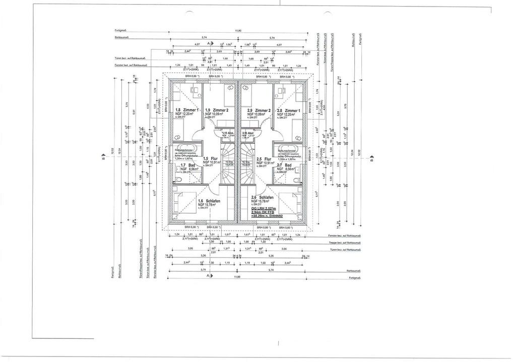 MIT 500QM GARTEN |  Doppelhaushälfte mit Niedrigenergie 500m vom Zeuthener See ab Jahresende