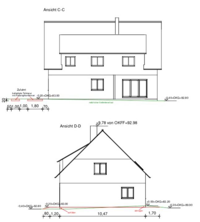 IM BAU | Neues Zweifamilienhaus mit gehobener Ausstattung, 7 Zimmern und Dachausbau in Bernau