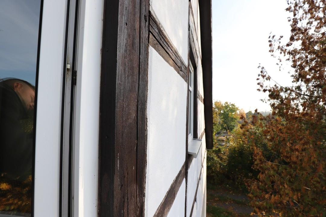 VIEL PLATZ | Charmantes Haus mit Fachwerk, Nebengelass und Garage in Steinbeck