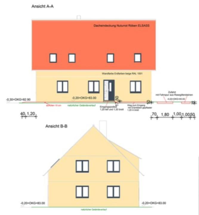 IM BAU   Neues Zweifamilienhaus mit gehobener Ausstattung, 7 Zimmern und Dachausbau in Bernau