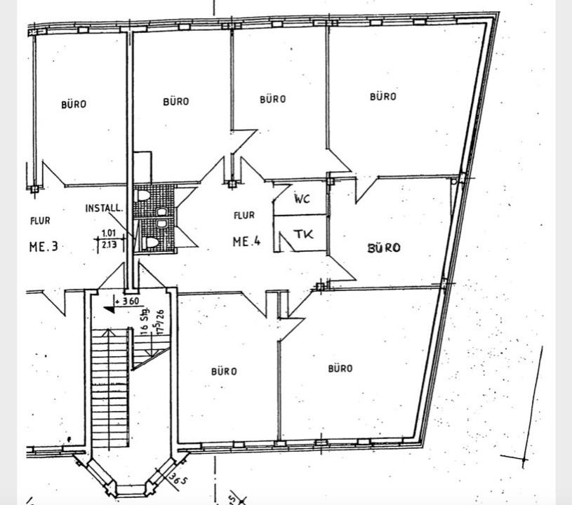 BÜRO ODER PRAXIS | Repräsentative Gewerbefläche in zentraler Lage von Bernau
