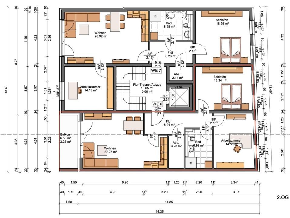 KEIN AUTO MEHR | 2 bis 4 Zimmer mit Lift zum Erstbezug | 55qm – 140qm PROVISIONSFREI